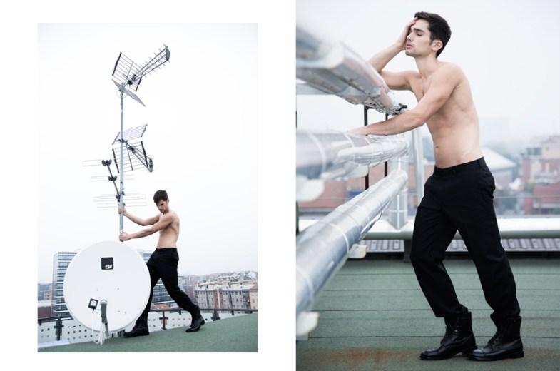 Norman Funk Daniel Gossmann Elite Models Milano