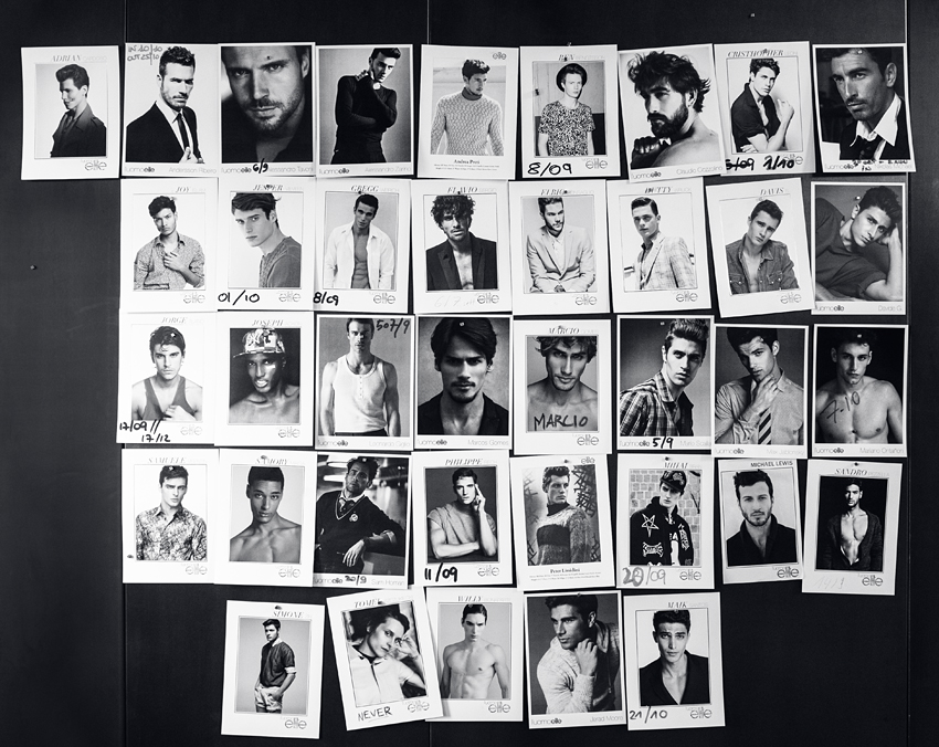 Elite Model Male Wall