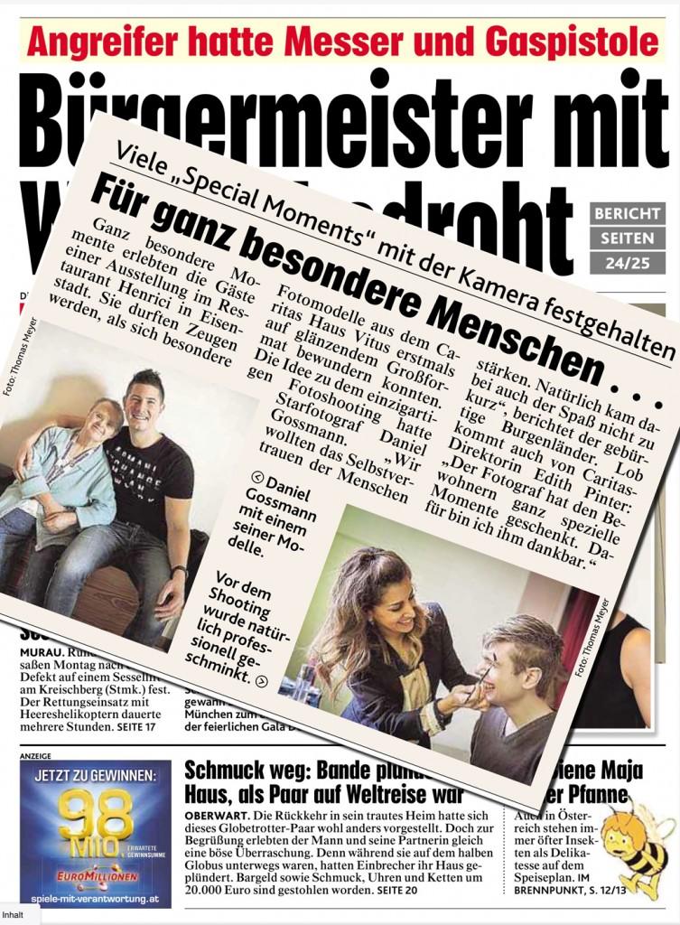 Daniel Gossmann Kronen Zeitung