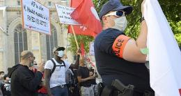police manifestant