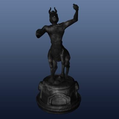 Knight black - 3D modelling - Maya