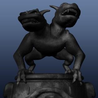 Pawn black - 3D modelling - Maya