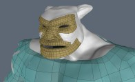 King: retopo face