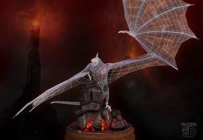UV Fell Beast Mordor Tower