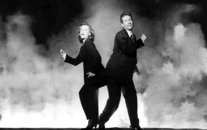 Scully och Mulder