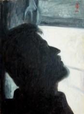 Contre-jour I - oil on canvas, 39,2 x 29,5cm, 2007