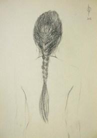 Identities (1) - pencil on paper, 36x25.5 cm, 2014