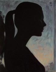 Contre-jour II - oil on canvas, 47.8 x 38.1 cm, 2007