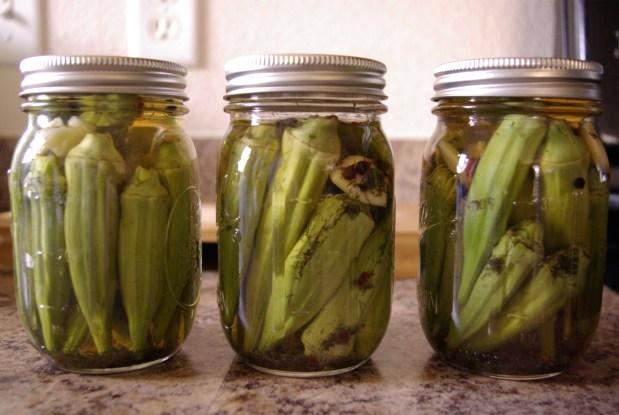 easy pickled okra