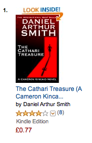 Kindle's Number 1 International Men's Adventure!