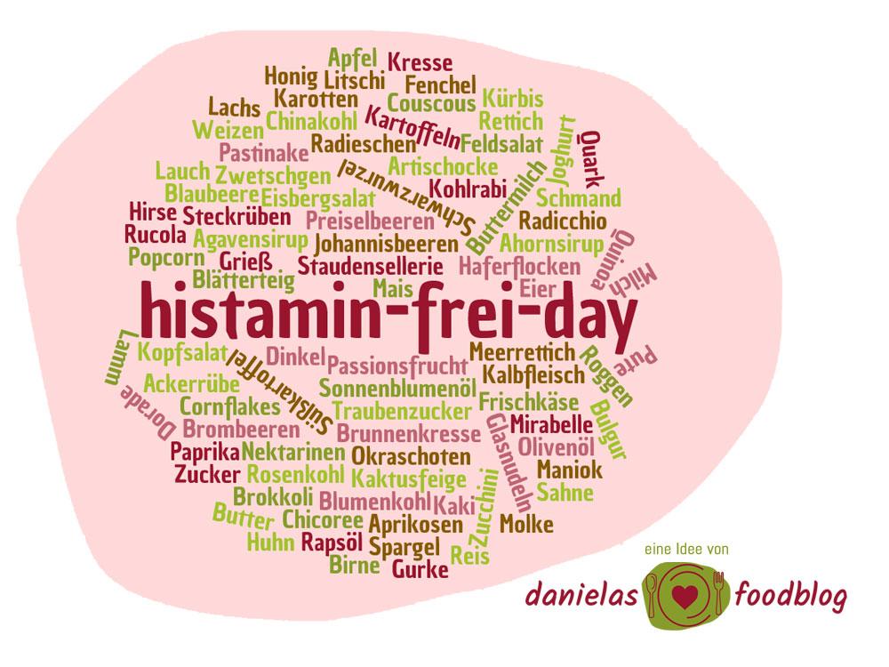 histamin-frei-day – Lust dabei zu sein?