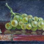 artcard-art-aceo-paintings-fruit-realism-grapes-grapes_on_ the_ table
