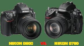Confronto Nikon D800 vs D700