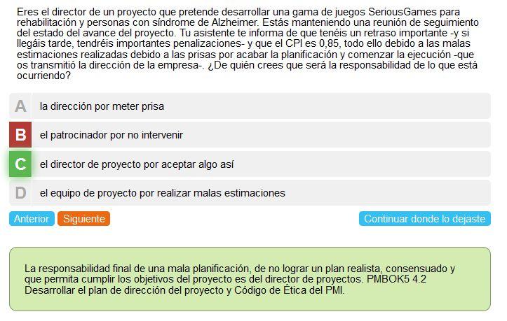 Project Management Daniel Echeverría