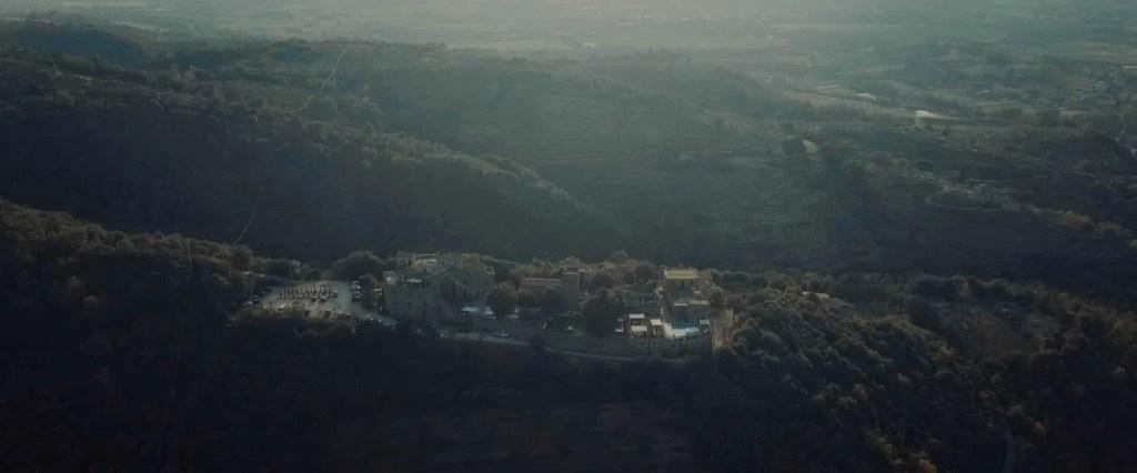 castle of rosciano drone