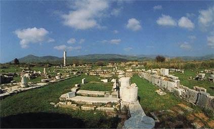 Resti dell'Heraion di Samo