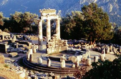Tolos di Athena a Delfi
