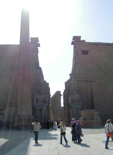 Primo Pilone del Tempio di Luqsor - Foto di Daniele Mancini