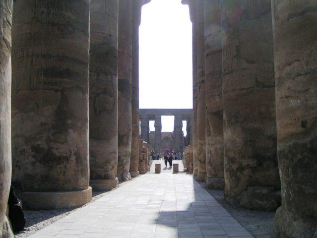 Sala Impostila nel Tempio di Luqsor - Foto Daniele Mancini