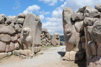 Porta dei Leoni di Hattusa