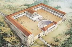 Ricostruzione del Santuario di Ercole a Tivoli