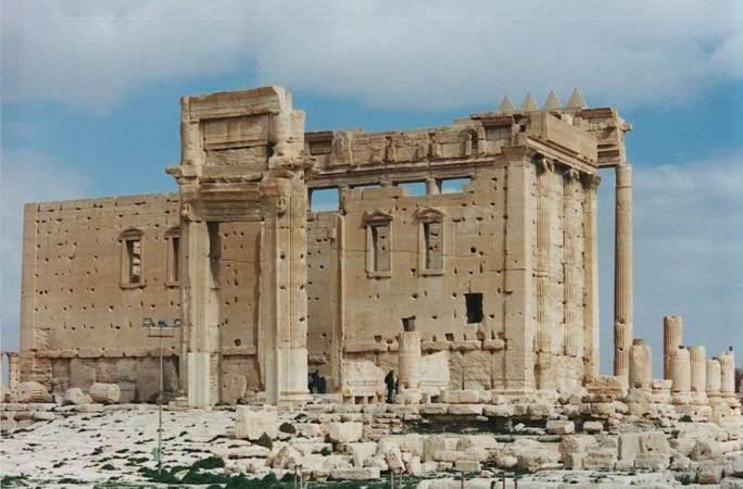 Palmira, il Tempio di Bel