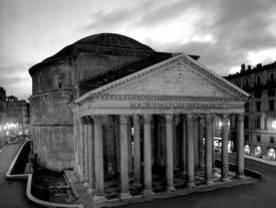 Il Pantheon qualche tempo fa