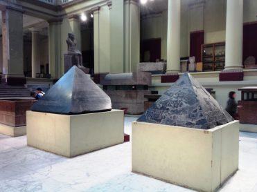 nel museo di Tutankhamon