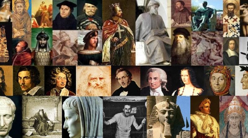 collage personaggi