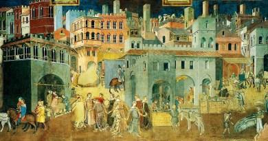 Lorenzetti,_Ambrogio._Effeti_del buon governo in_città