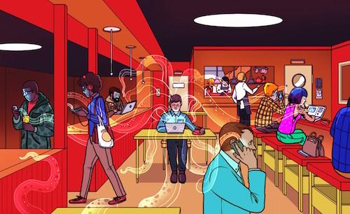 Wi-Fi in public places