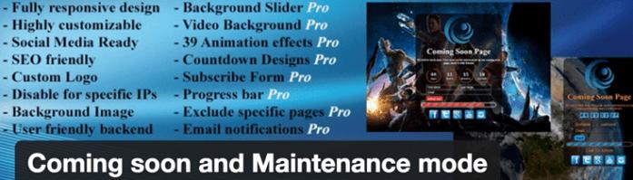 coming-soon-maintenance-plugin
