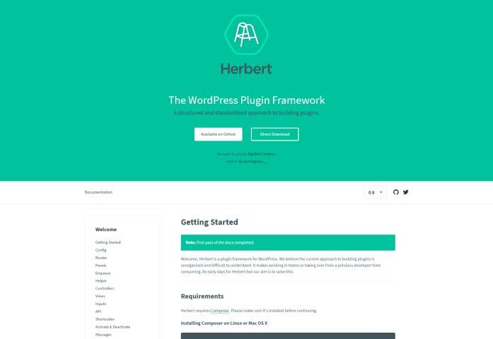 Herbert: Structured WordPress Plugin Framework