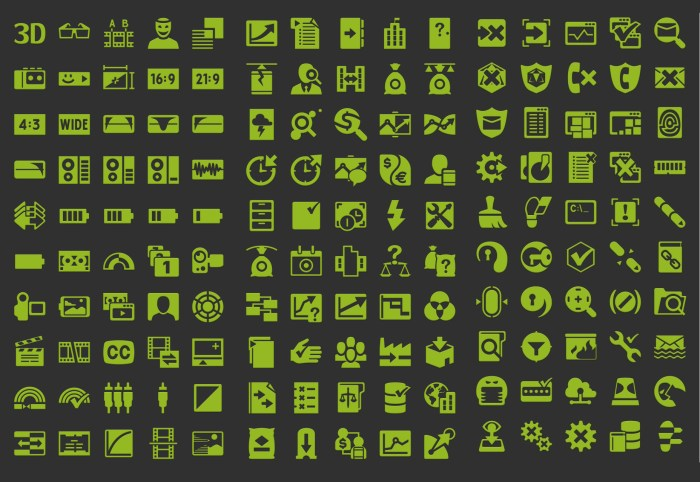 54K Editable and Scalable Android Icons