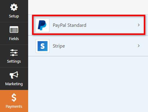 setting up paypal donations