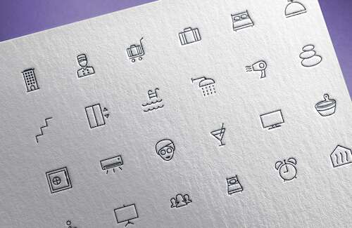 Freebie: Hotel & Spa Icons (55 Icons PNG, SVG)
