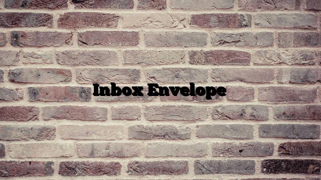 Inbox Envelope