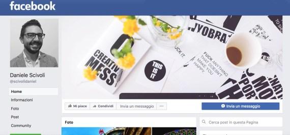 pagina facebook daniele scivoli