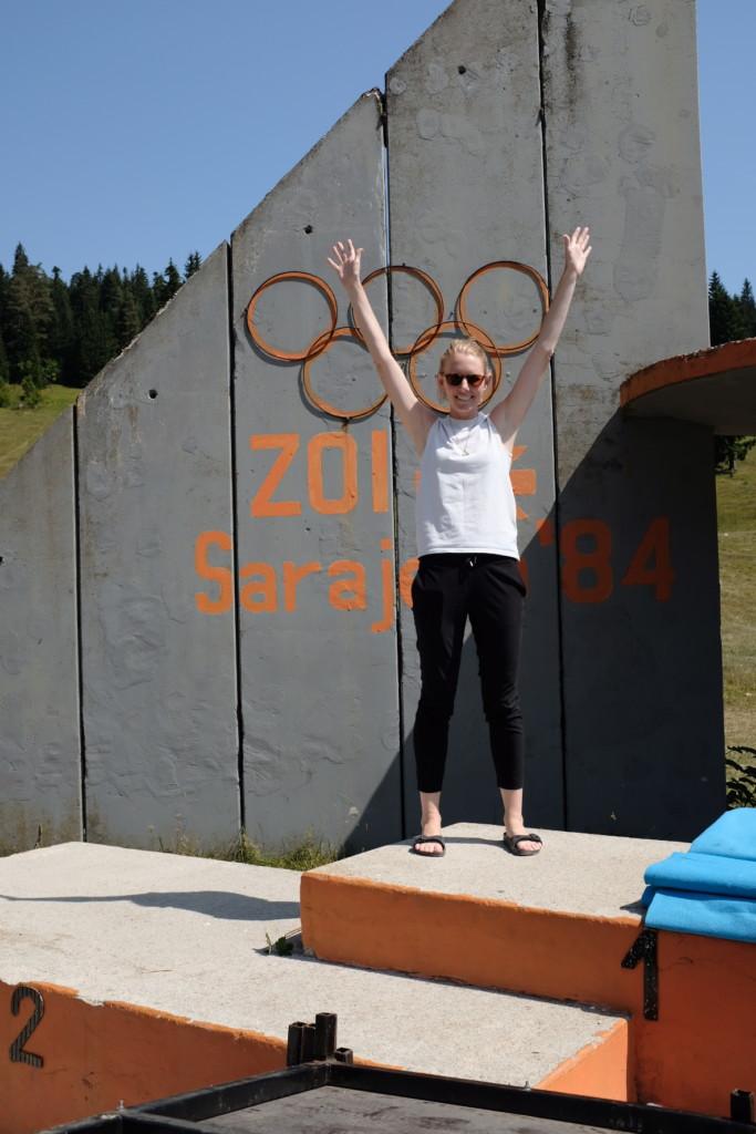 Sarajevo Olympic Podium