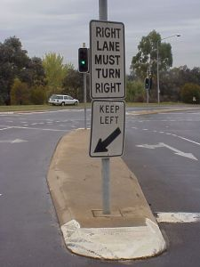 confusing sign