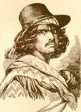 Joaquin Murieta's drawing