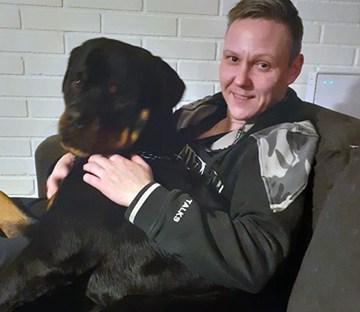 Martin and Rottweiler Heimdal