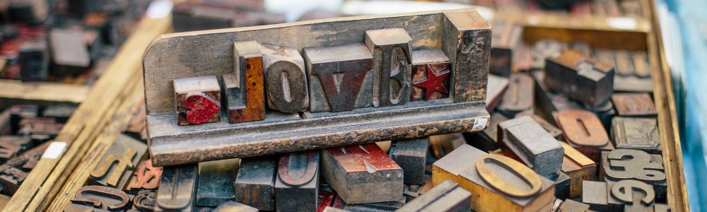 woodtype letterpress love