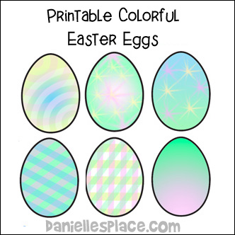 Easter Crafts And Learning Activitiesfor Kids