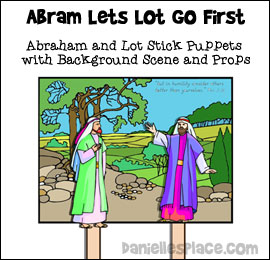 abraham and his guests sunday school # 79