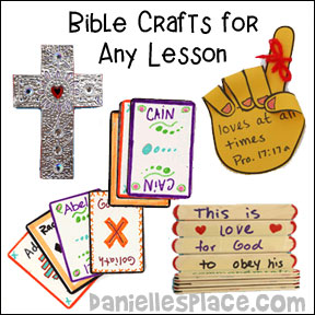 Bible Crafts And Bible Games For Childrens Sunday School