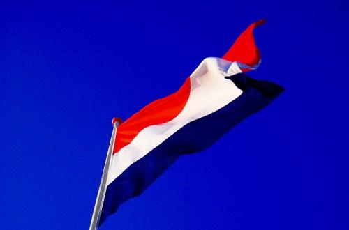 nederlandse vlag, bevrijding