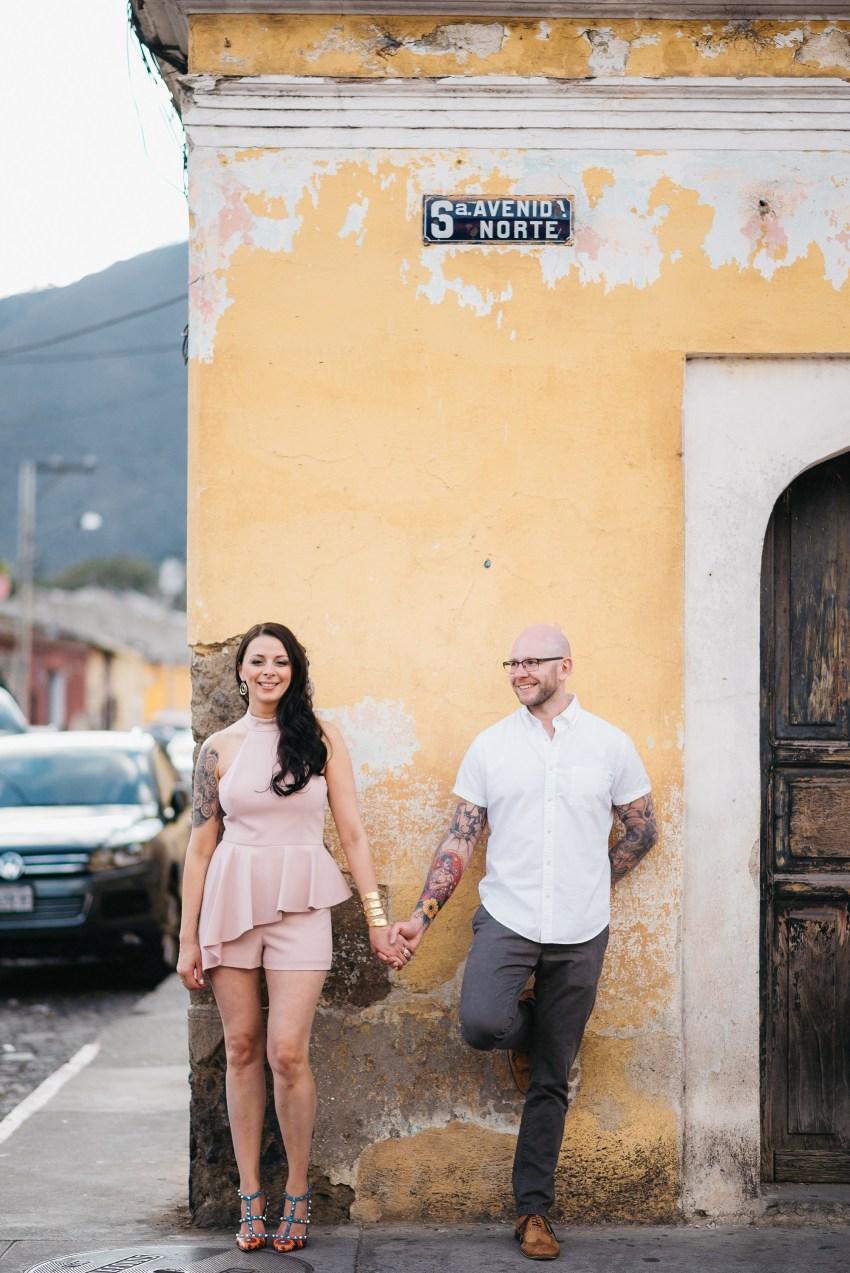 Engagement Photo Shoot Antigua Guatemala Daniel Lopez