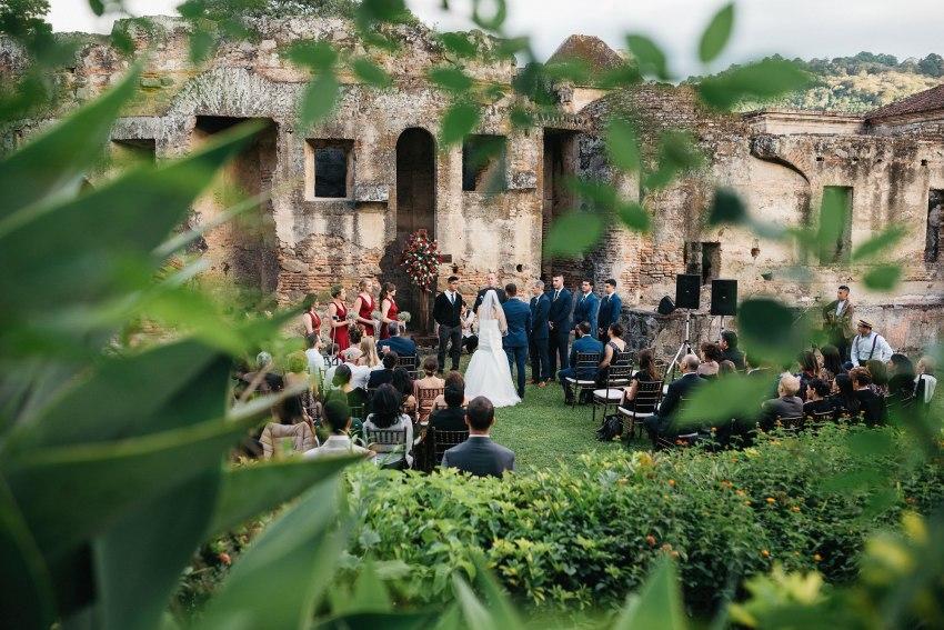 Boda Convento Capuchinas Antigua