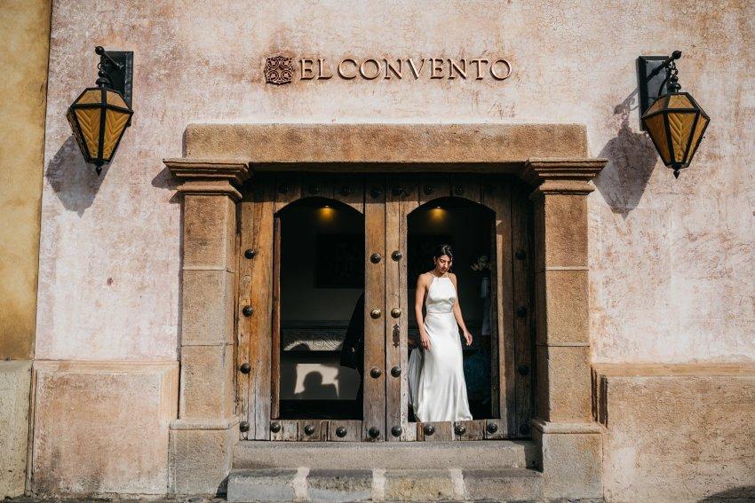 wedding El Convento Antigua